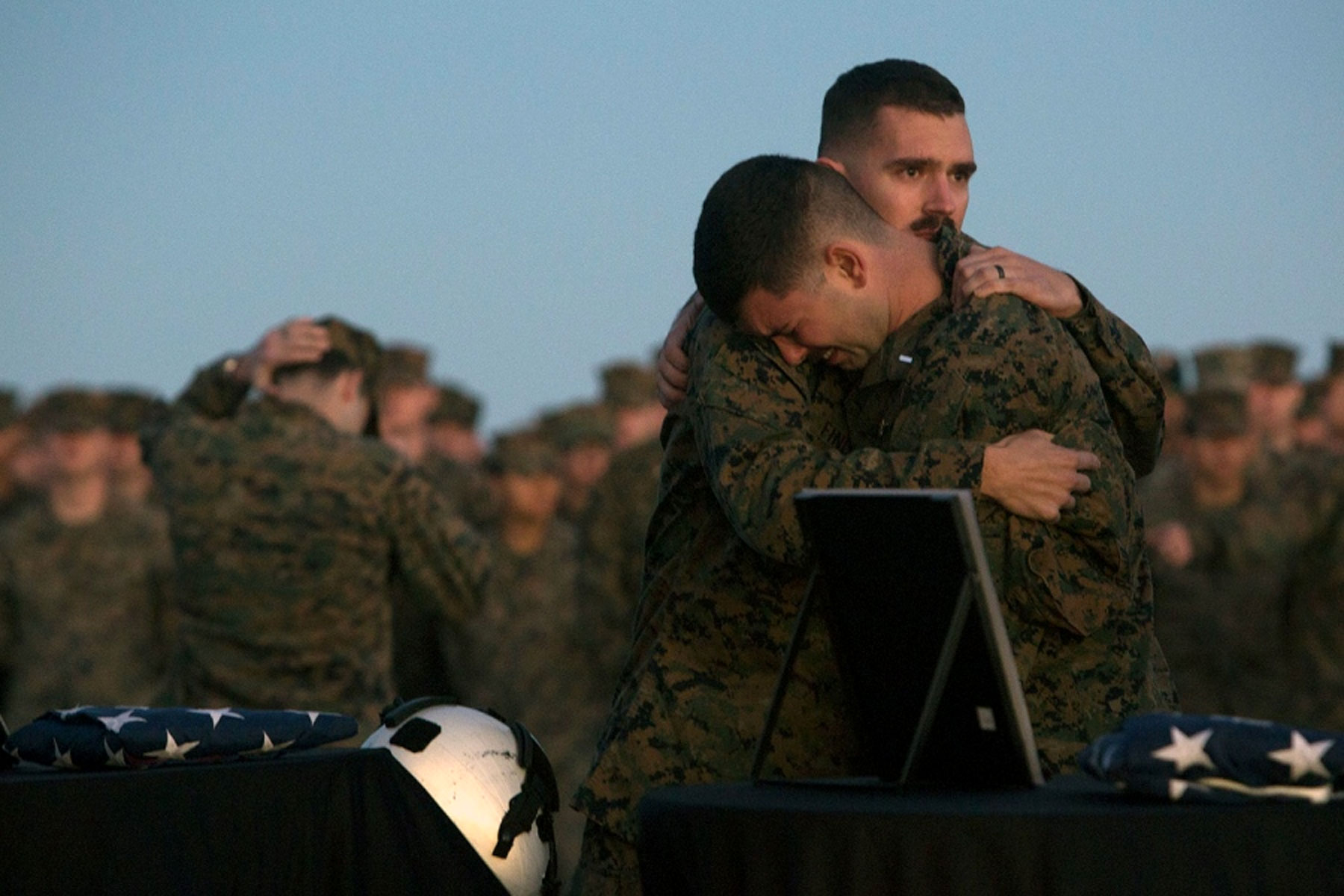 marine killed in osprey crash honored by hundreds in maine