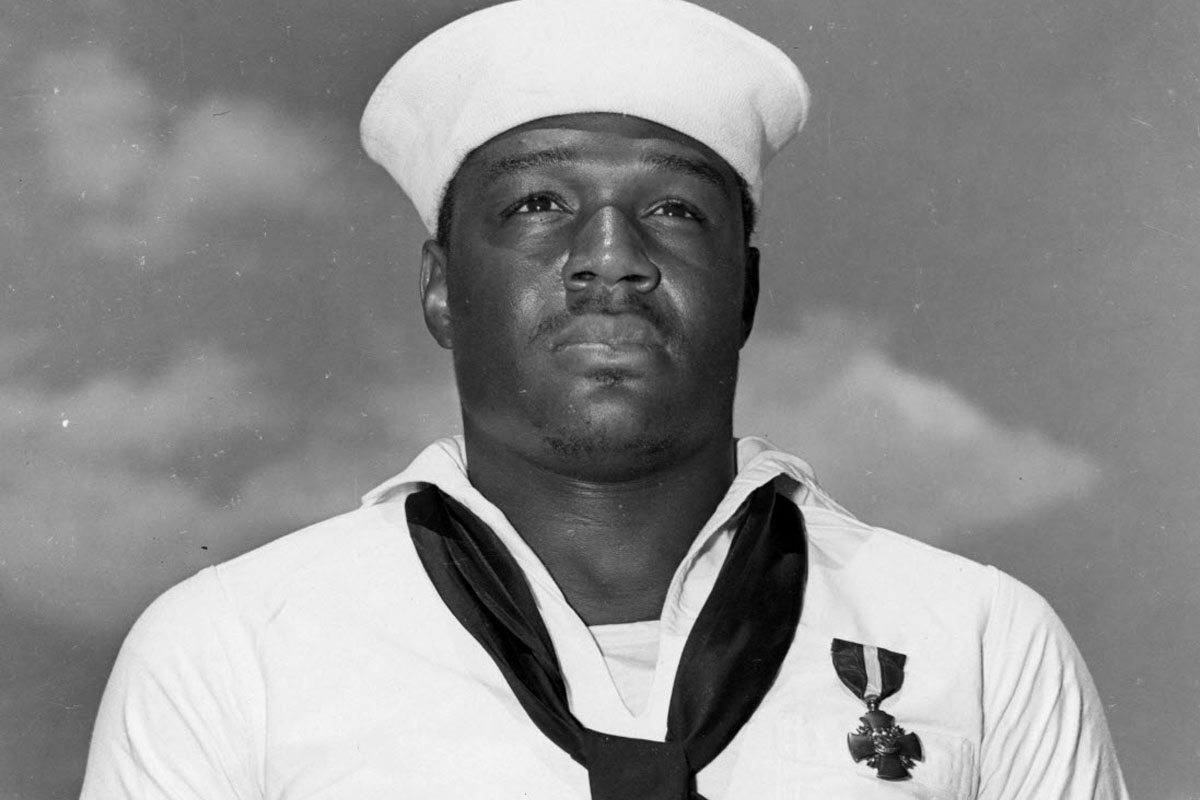 Doris Miller, Navy Cross recipient