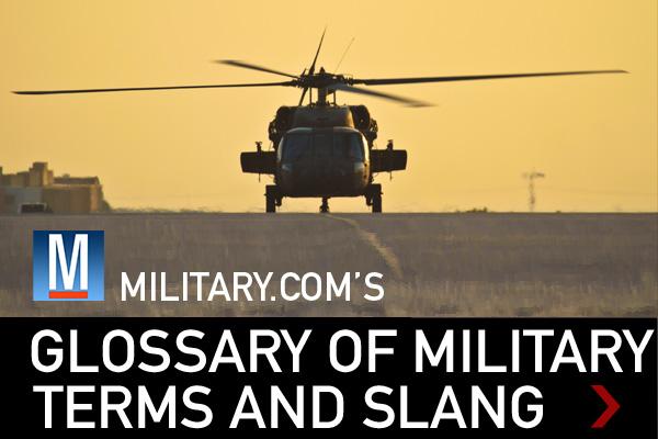 military terms  military jargon  slang