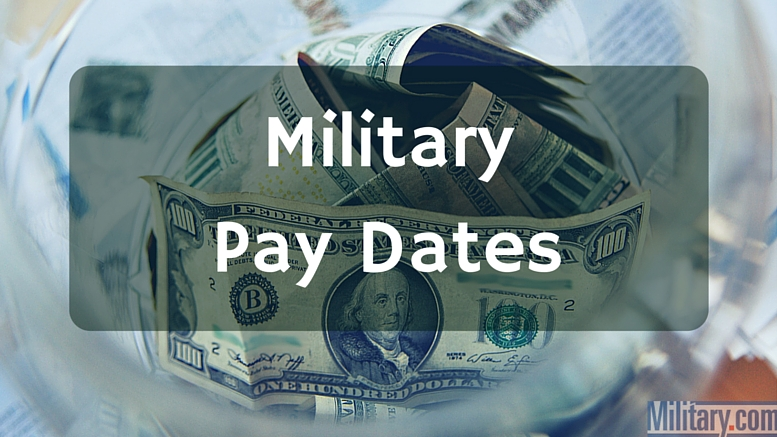 Military pay dates in Australia