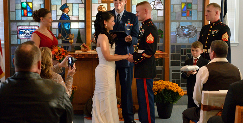 Getting married in the army