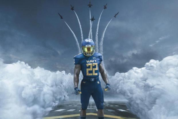 Army Navy Game 2017 Uniforms >> Navy Unveils Blue Angels-Inspired Uniforms for Army-Navy Game | Military.com