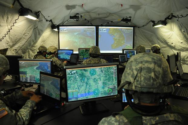 Integrated Air and Missile Defense (IAMD) Battle Command System (IBCS) is a command-and-control system designed to provide enhanced aircraft and missile tracking by connecting to any number of radars and interceptors. (Image courtesy Northrop Grumman)