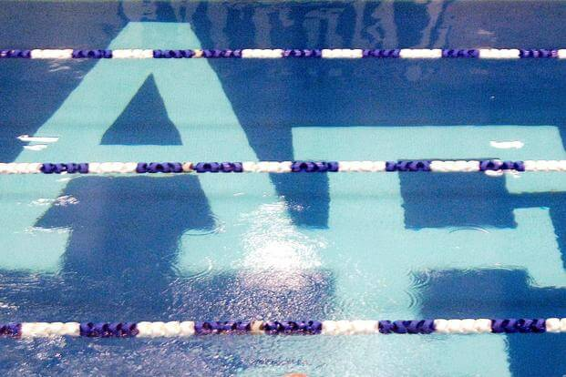 The swimming pool at the U.S. Air Force Academy, Colorado Springs, Colorado. (U.S. Air Force/Staff Sgt. Raymond Hoy)