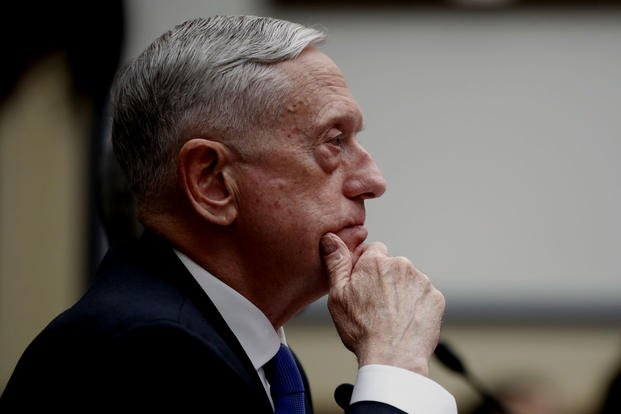 "Defense Secretary Mattis said he's ""not going have some people deploying constantly and then other people, who seem to not pay that price, in the U.S. military."""