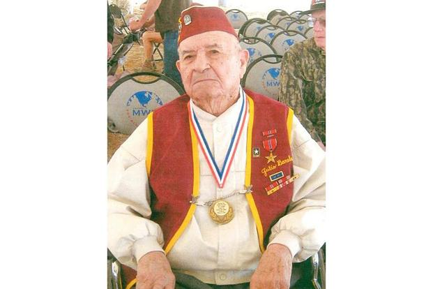 Julio Barela, one of the last Bataan Death March survivors, died Feb. 12, 2018, in Truth or Consequences, N.M., due to complications from pneumonia. He was 101 years old. Courtesy of the Barela Family