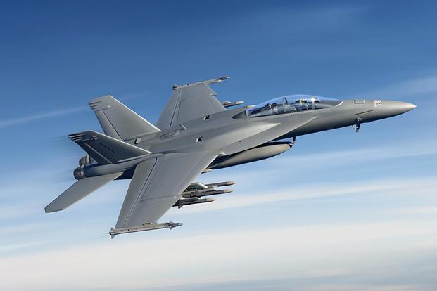 The Super Hornet is currently undergoing new modifications to give it upgraded stealth coating, smarter tactical targeting, improved communications, advanced cockpit displays. (Image: Boeing)