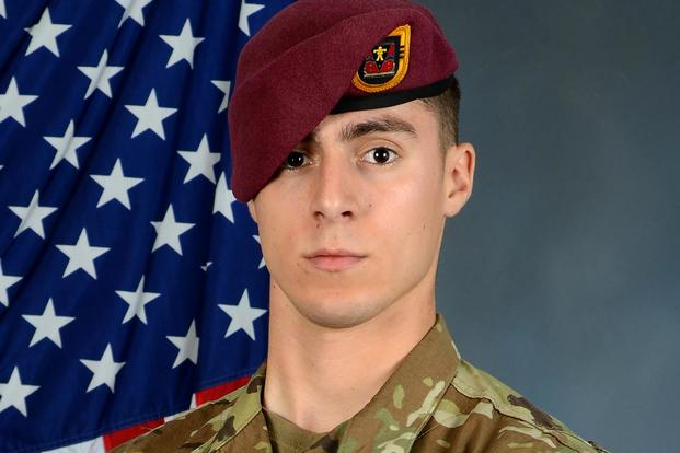 Spc. Gabriel D. Conde, 22, of Loveland, Colorado was an airborne infantryman in the 3rd Battalion, 509th Infantry Regiment, 4th Infantry Brigade Combat Team (Airborne), 25th Infantry Division, out of Joint Base Elmendorf-Richardson. (U.S. Army photo)