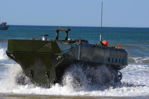 BAE Systems Amphibious Combat Vehicle 1.1 (ACV 1.1) (Image: Courtesy of BAE Systems)