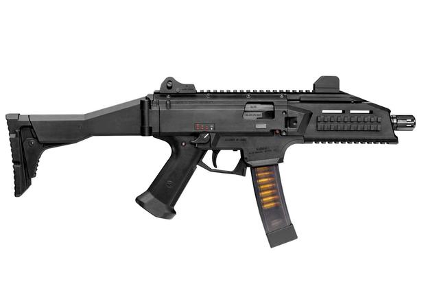 The Army has selected CZ-USA's Scorpion EVO 3 A1 submachinegun along with other commercial subcompact weapons for future testing. (Photo: CZ-USA)