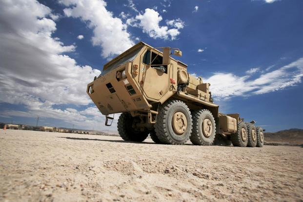 Oshkosh Palletized Load System (PLS) A1 (Photo: Courtesy of Oshkosh)