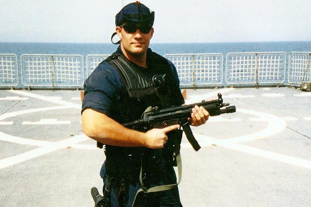 Petty Officer 3rd Class Bruckenthal. (Coast guard Photo)