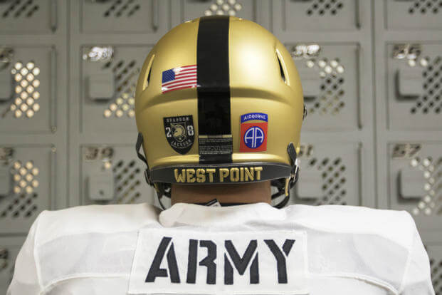 "During Friday's season opener at Duke, the Army West Point Football team will honor the ""All-American"" division, the 82nd Airborne Division, which is based at Fort Bragg, North Carolina, located about an hour and a half from Duke University. (Photo Credit: U.S. Army)"