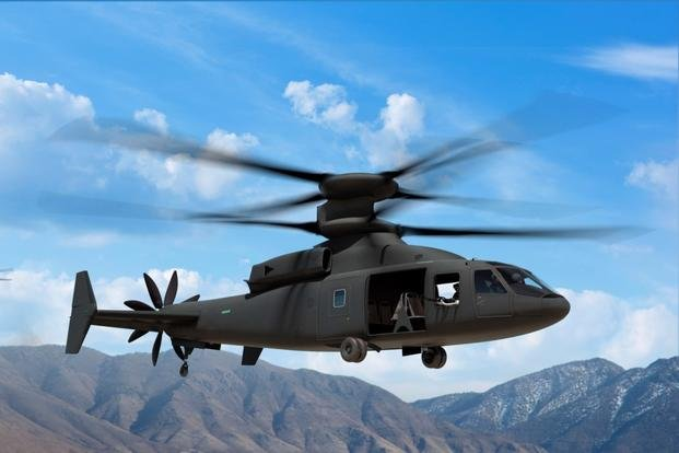 Photo illustration of the Defiant from Sikorsky-Boeing. Courtesy of Sikorsky-Boeing