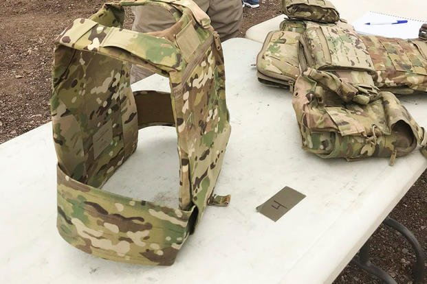 Army equipment officials have begun fielding the new Modular Scalable Vest, or MSV. But now they're looking to invest in even lighter armor. Photo: U.S. Army.