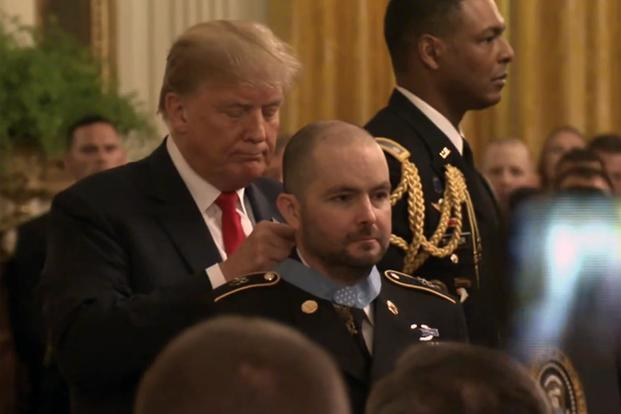 Trump Awards Medal of Honor to His Own Secret Service Agent