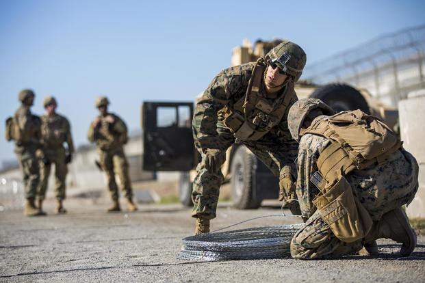 number of troops at border has peaked defense official