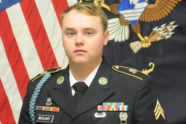 Sgt. Jason M. McClary. (U.S. Army Photo)