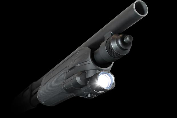 Adaptive Tactical LLC's new EX Performance Tactical Light Forend for popular tactical shotguns that will be unveiled at 2019 SHOT Show. (Image: Adaptive Tactical)