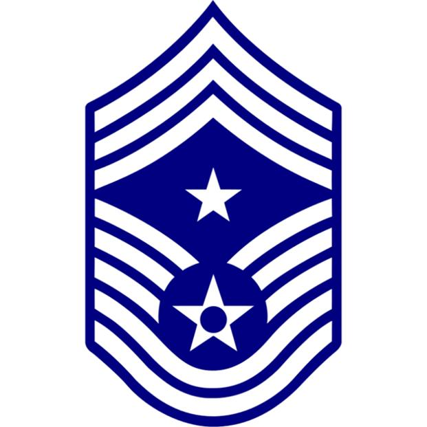 Air Force Command Chief Master Sergeant insignia