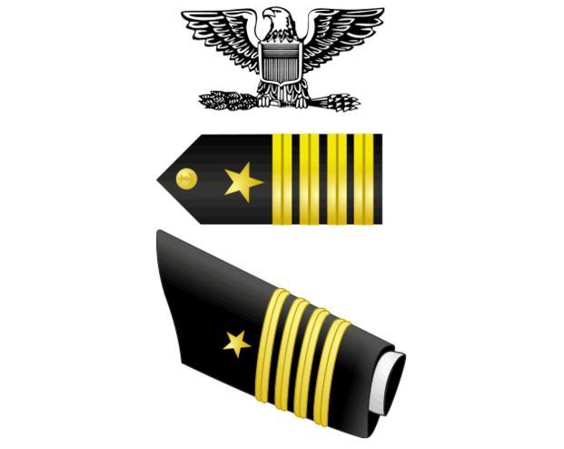 Captain (CAPT, O6) insignia