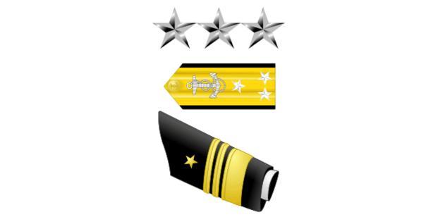 Vice Admiral insignia