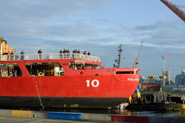 After More Than 3 Months at Sea, Polar Star Icebreaker