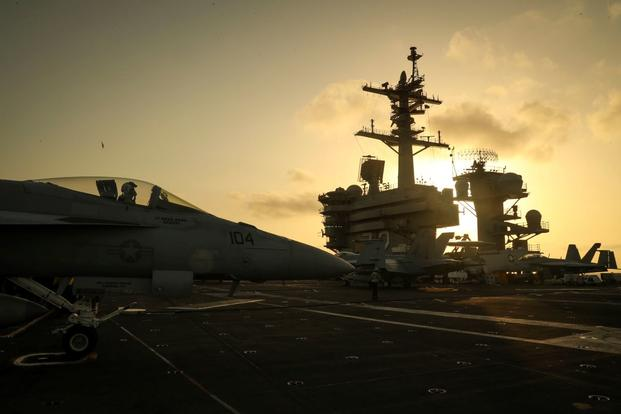 US Carrier in Persian Gulf Region Sends Clear Signal to Iran