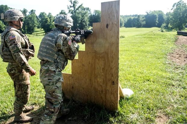 ROTC Cadets Now Firing and Maneuvering with Live Ammo at