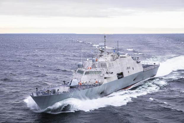 US Navy Commander Relieved After LCS Hits a Cargo Ship in Canada