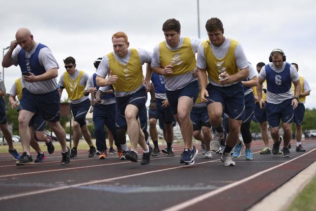 Top Enlisted Airman Eyeing No-Fail Trial PT Tests to Help Improve