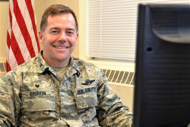Col. Bill Griffin, 111th Attack Wing commander, poses for a photo Feb. 7, 2018. (U.S. Air National Guard photo/Andria Allmond) Military.com   By Oriana Pawlyk, 16 Apr 2021