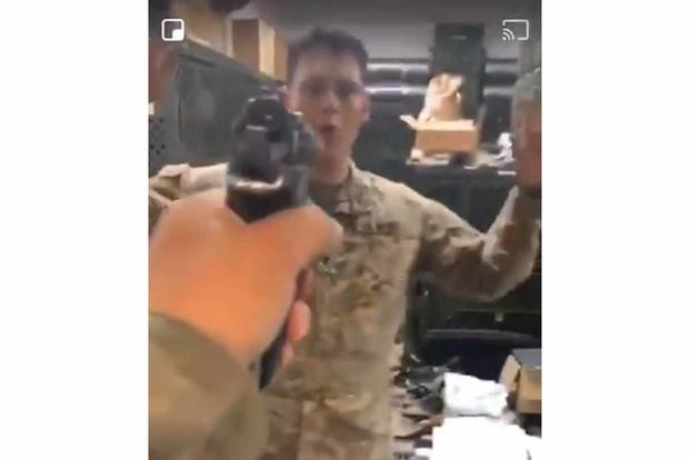 TikTok Showing Soldier Pointing Loaded Pistol at Buddy Prompts Army Probe