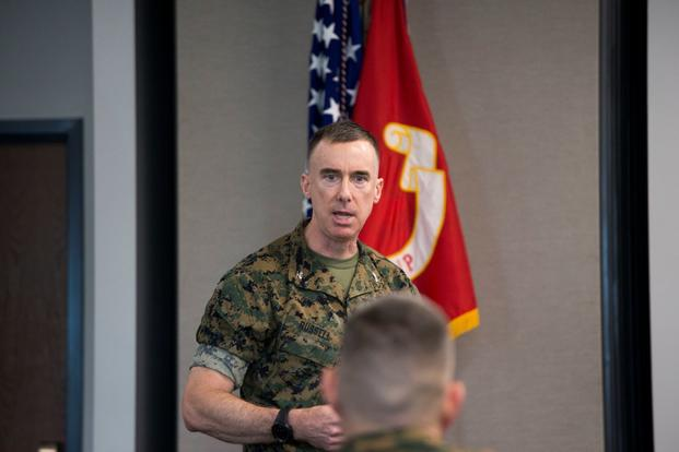 Marine Corps Col. Brian E. Russell.