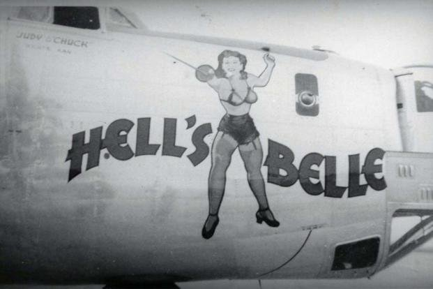 Air Force One rejected Nose art