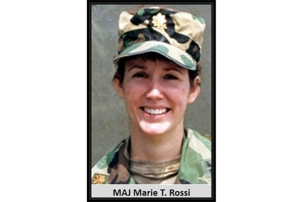 Maj. Marie Therese Rossi-Cayton.