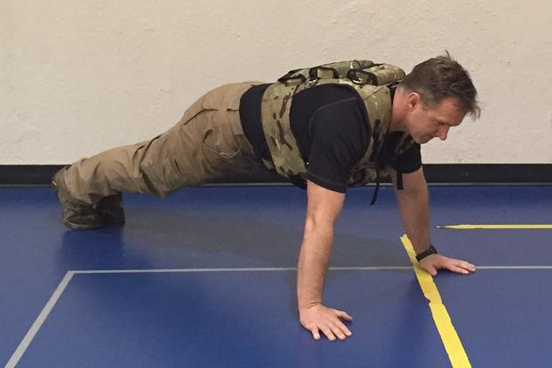 Stew Smith Weighted Vest Push-up
