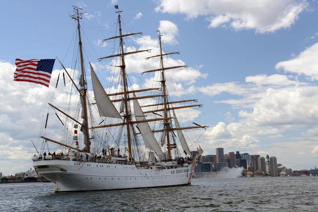 Coast Guard barque Eagle