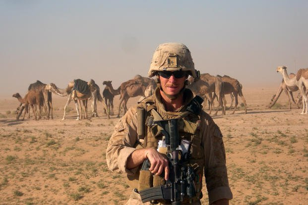 Chase Millsap camel from Iraq