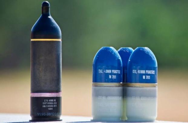 Army Tests New 40mm Door-Breaching Grenade & Army Tests New 40mm Door-Breaching Grenade | Military.com