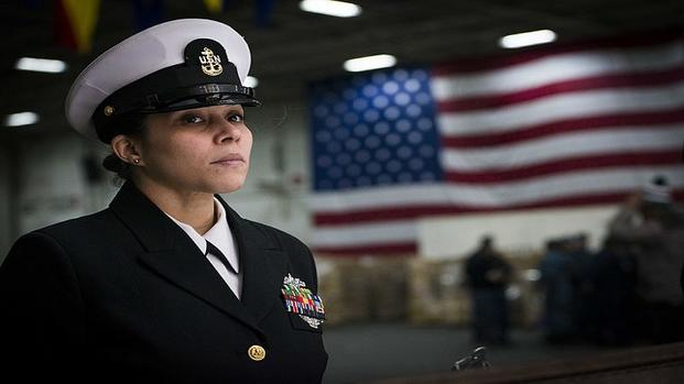 Congress Delays Rollout of Navy's Unisex Dress Cover