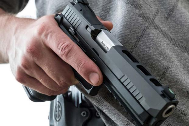 Sig Sauer Offers Safety Upgrade on Handgun the US Army Just