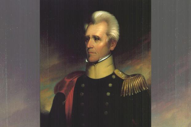 Portrait of Andrew Jackson by Ralph E. W. Earl