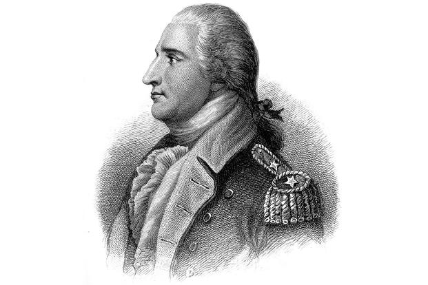 Benedict Arnold. Copy of engraving by H. B. Hall after John Trumbull.