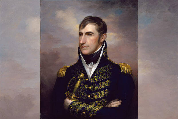 Portrait of William Henry Harrison by Rembrandt Peale
