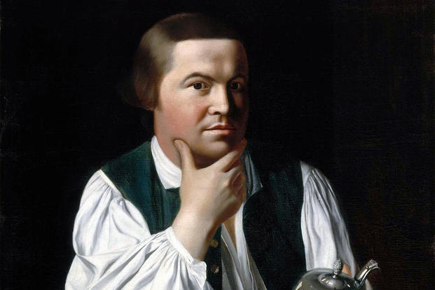 Paul Revere, oil on canvas, by John Singleton Copley (Carolyn A. and Peter S. Lynch Gallery)