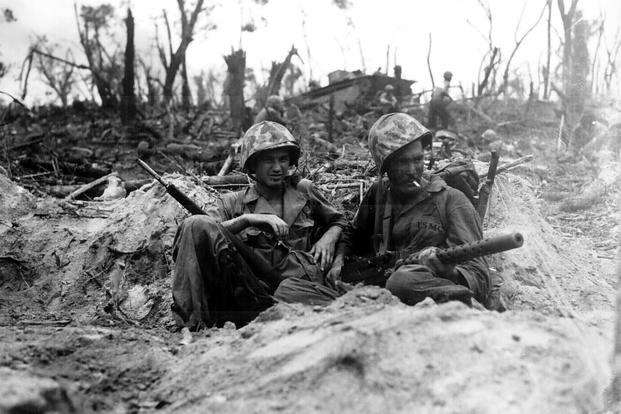 Marines Who Beat The Odds To Win The Battle Of Peleliu