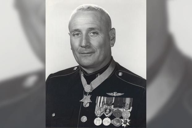 Jimmie E. Howard, USMC; Medal of Honor recipient for heroic actions during the Vietnam War (June 1966). (Photo: U.S. Marine Corps)