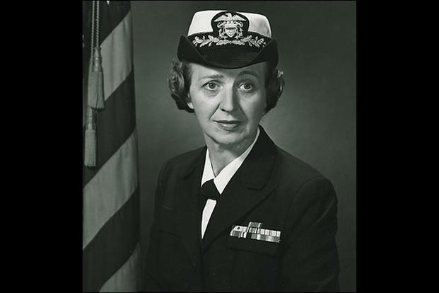 Captain Ruth Erikson (U.S. Navy photo)