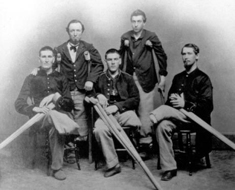 Civil War amputees.